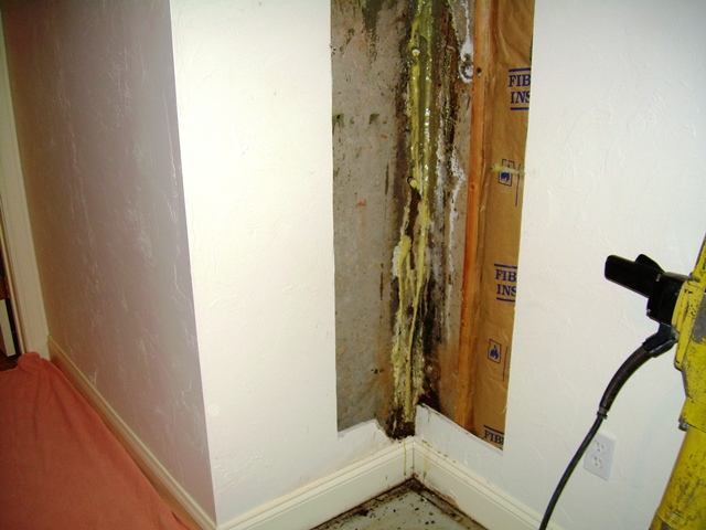 basement waterproofing and drainage work pictures
